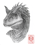 Carnotaurus by LycanthropeHeart