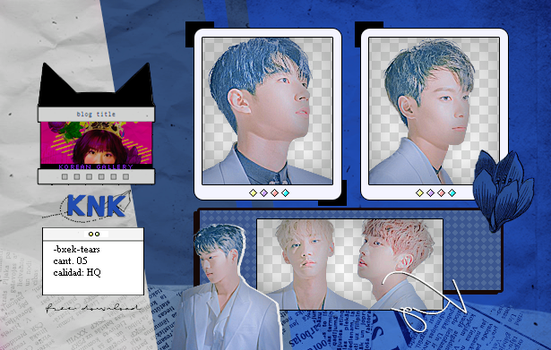 KNK | PACK PNG by KoreanGallery
