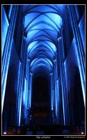 blue cathedral by NashBen