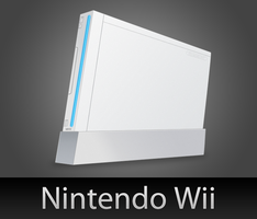 Nintendo Wii with PSD by wafflez-art