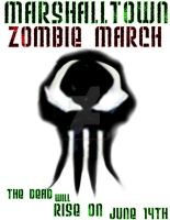Zombie March Marshalltown by priorchaoss