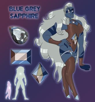 Fusion: Blue Grey Sapphire! by PineappleSan