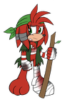 Young Red: The Outcast Echidna by DragonQuestHero