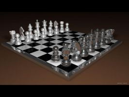 Chessboard by wh1tel1te