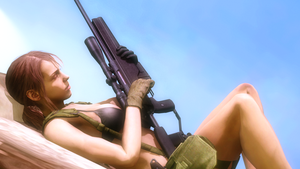 Quiet (Metal Gear Solid 5: The Phantom Pain) by AngryRabbitGmoD