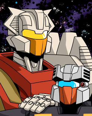 TBSS - Chromedome and Rewind by SeanRM