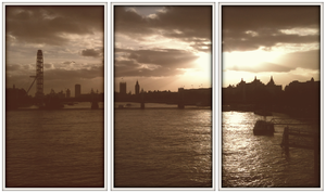 London Sky Polaroids by chrisbrown55