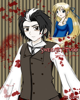 Sweeney and Johanna colored by Eilyn-Chan