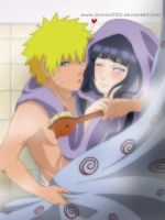 AT: NARUHINA xTOWELSx by annria2002