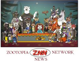 Team of Zootopia News Network by FairytalesArtist