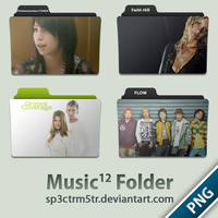 Music Folder 12 PNG by sp3ctrm5tr