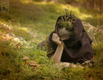 Mossy Mask in a Mossy Forest by Nymla