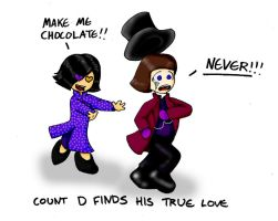 Count D Loves Chocolate by Angel-Uriel