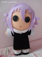 Soul Eater Button Eyed Crona Plushie by VioletLunchell
