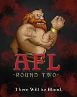 AFL II Poster - M'don by GH-MoNGo