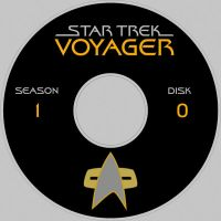 Star Trek Voyager Label by maggot216