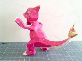 Papercraft - Charmeleon 02 by ckry