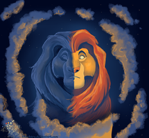 Mufasa's Ghost by The-Hare