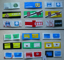 Dead Rising Duct Tape Wallets by ZombieHunt3r