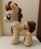 Doctor Whooves : Plush Commission: by AppleDew