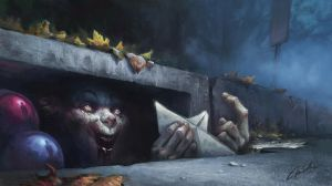 Stephen Kings It by MagdaPROski