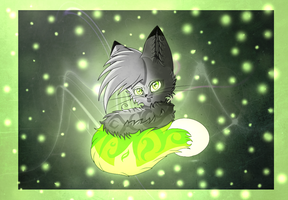 Contest Entry- Zero the Glowcat by Flushkitty