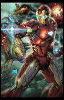 Iron Man 2013 Colors by hanzozuken
