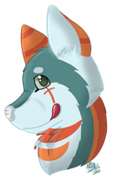 Cross Headshot (9/12) by CollectionOfWhiskers