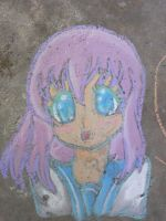 Chalk Drawing by AbominalSnowDemon