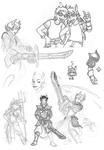 HS sketchdump 2 by Arianod
