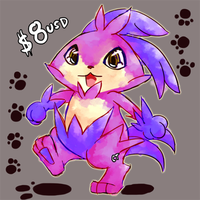 AdoptMon for $8USD + Character Rights! by melonycreations