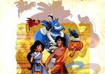 Aladdin - Trick or treat by selinmarsou