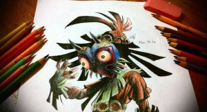 Majora's Mask: Skull Kid by susei1348