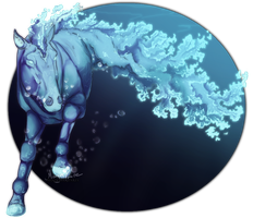 . Commission . The Water Horse . by ShadowCatsKey