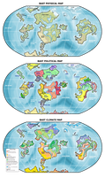 GT: Bast World Map by snakes-on-a-plane