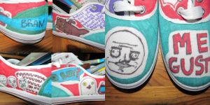 Meme Shoes. by Jelin