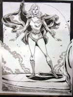 HeroesCon 2011 - 70s Supergirl by mysteryming