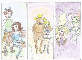 Group characters Magical Starsign by Baka-Louise