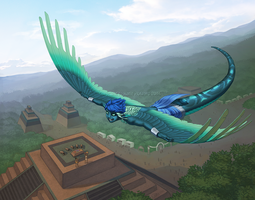 Soaring Over Home by KatieHofgard