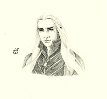 You [Thranduil] by AloiInTheSky