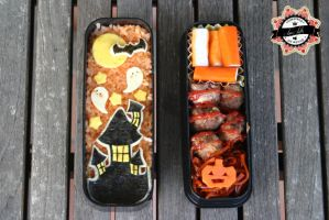 Bento Halloween Castle by RiYuPai