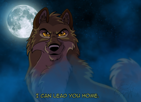 Balto I can lead you home by EmberWolfsArt