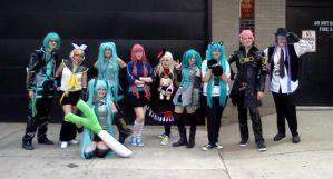 Acen 2013 Vocaloid Photoshoot-2 by dreamlife109