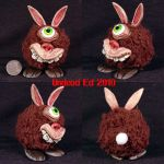 Dicky The Raboot OOAK plush by Undead-Art