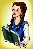 Young Belle by HollyRoseBriar