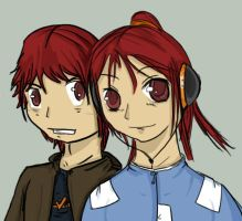 O Red Haired Ones by Axeraider70