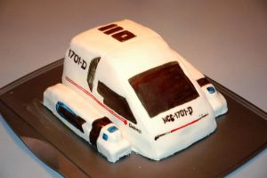 Shuttle Craft Cake by Danosuke