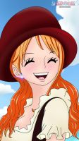 Nami - one piece chap 827 by Shinji0710