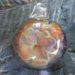 Frit Implosion Pendant by CeltCraft