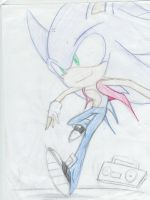 Sonic Jerkin IN COLOR zOMG by Darkend-Inversion